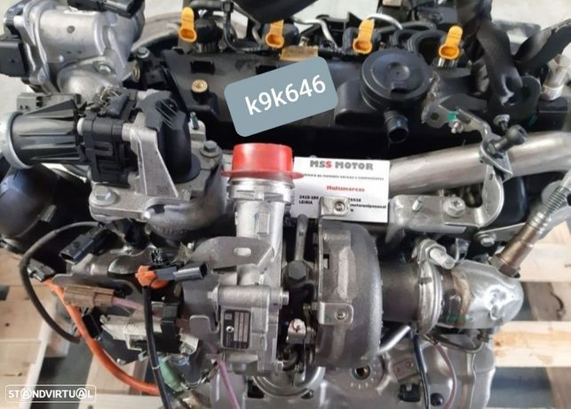 Motor Renault Megane Captur Kadjar Talisman 1.5Dci 110Cv Ref.K9k646