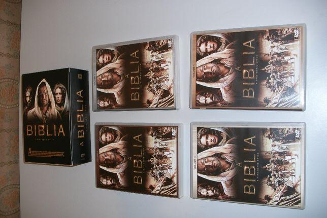 A Biblia por Diogo Morgado 4 Dvds
