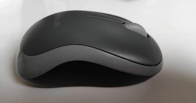 Nowa myszka Logitech M185 (czarno-szary)