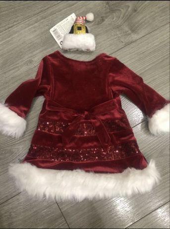 Новогоднее платье для самых маленьких