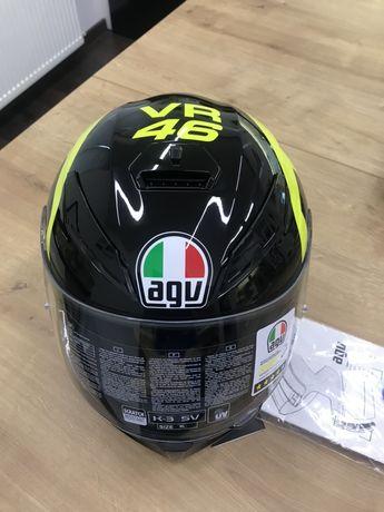 Продам новый мотошлем AGV K 3  Valentino Rossi - М/L
