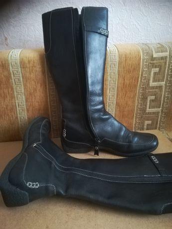 Отличные сапоги кожаные Timberland 39р