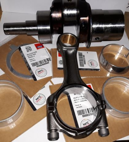 Hatz zestaw naprawczy 1D60, 1D80, 1D81, 1D90 wał korbowód panewki kpl