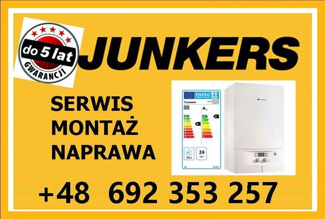 Junkers montaż serwis naprawa kotłów pieców piecyków bojlerów gazowych