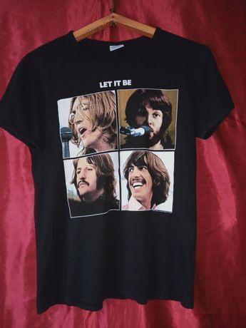 Футболка The Beatles Битлз John Lennon Paul McCartney Let it Be