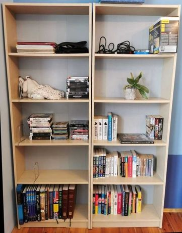 Regał na książki / półki - dwie sztuki