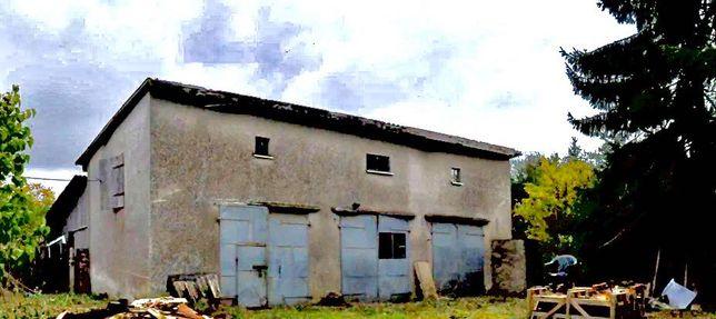 Dom na działce budowlanej z warsztatem i budynkami gospodarczymi,Włoki