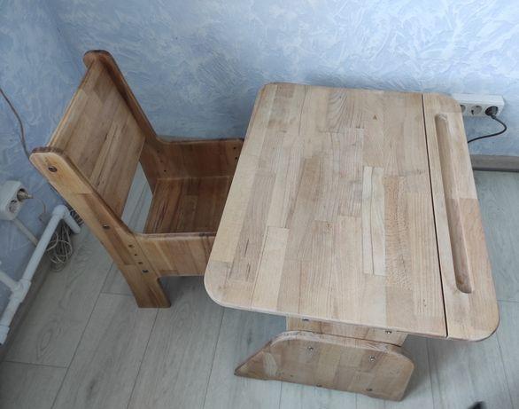 Парта-растишка и стул
