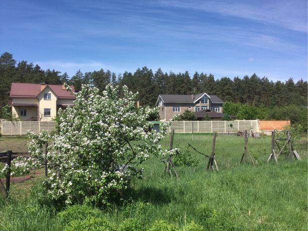 Осокорки ( Гнедин ) дом и большой участок рядом лес ( строим )