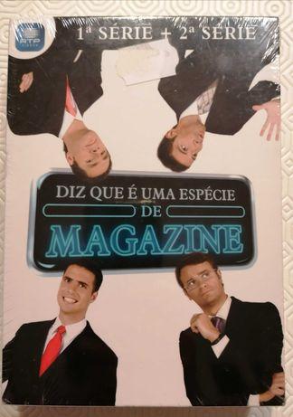 DVDs Diz que é uma espécie de Magazine - 1ª e 2ª série, NOVO e fechado