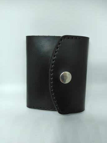 Женский кошелек из кожи ручной работы