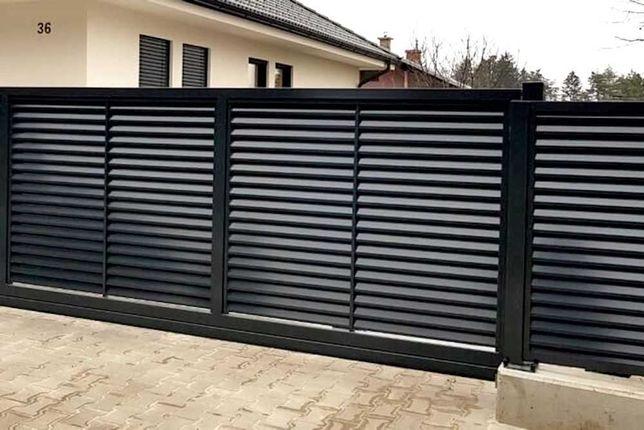 Забор-жалюзи от 45 грн/м.п ламели