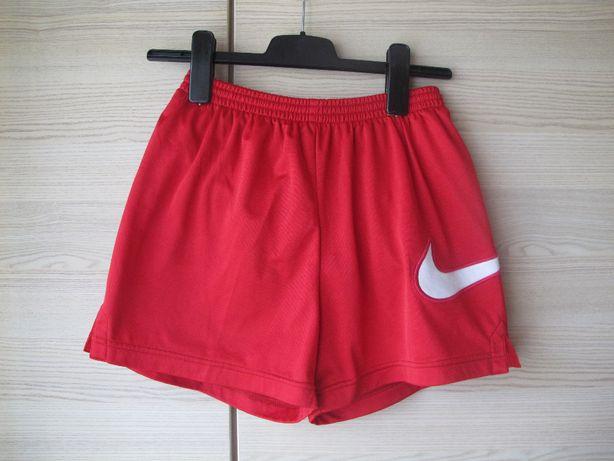 krótkie spodenki Nike 152 czewone oryginalne chłopiec lato