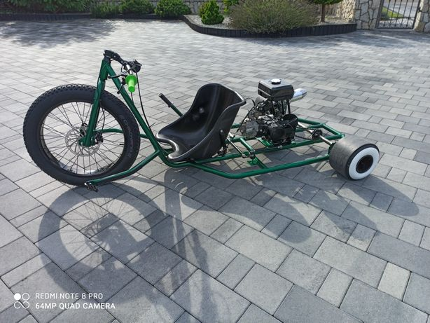 Drift trike trajka gokart limited edition motorized