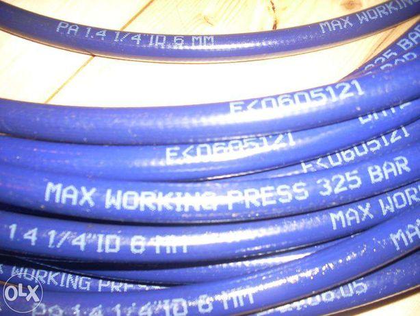 Przewód wysokociśnieniowy 325 bar, 28 m lub 2x14m