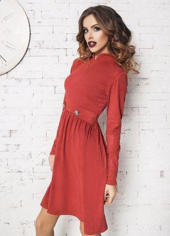 Красное платье Sка (42-44)