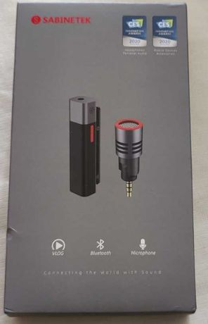 Bundle Microfone Bluetooth Sabinetek SmartMike+