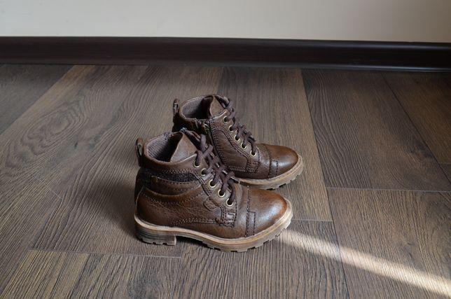 кожаные ботинки river island демисезонные 23 24 размер