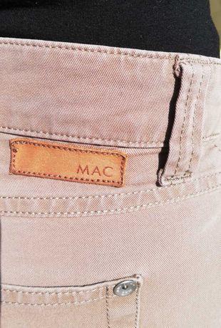 Spodnie rurki MAC rozm. 36, kolor cappuccino