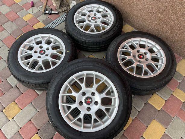 Тітанові діски WSL 5*112 R15 Mercedes -Audi-Scoda-VW-Seat