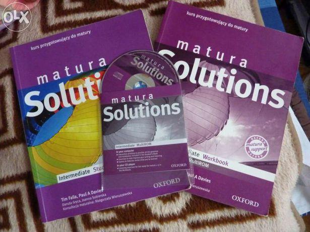 Matura Solutions Intermediate Student's Book + Workbook