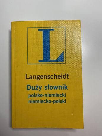 Duży słownik polsko-niemiecki niemiecko-polski