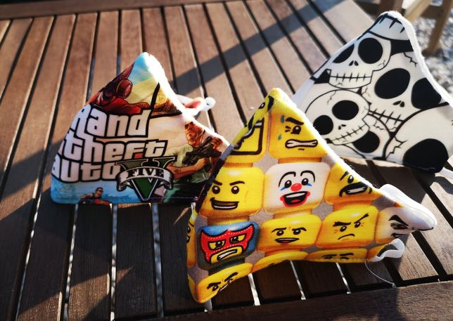 Maski Maseczki Dziecięce GTA LEGO CZASZKI
