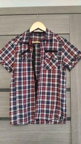 Koszula w kratę dla chłopca