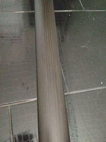 Наличник дверной ламинированный венге полукруглый МДФ