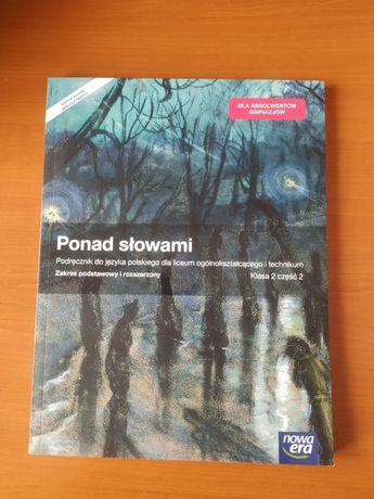 Podręcznik Ponad Słowami do j. Polskiego klasa 2 część 2