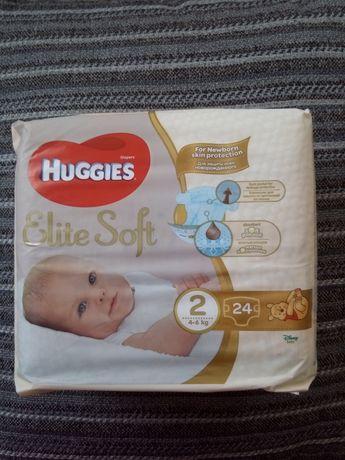 Памперсы, подгузники Huggies Elite Soft 2, 24 шт.