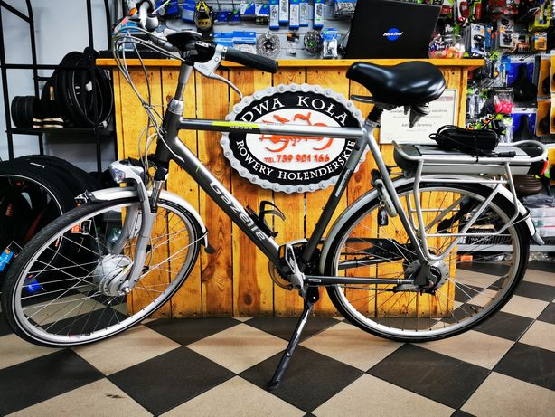 Rower Męski Holenderski Elektryczny Gazelle Medeo