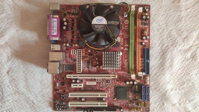 MSI MS-7267 VER 4.2 + Celeron 420 1.6 GHz
