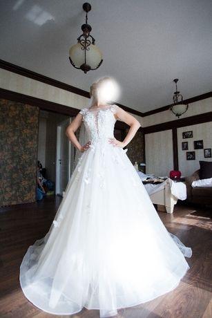 Шикарное европейское свадебное платье за ПОЛЦЕНЫ