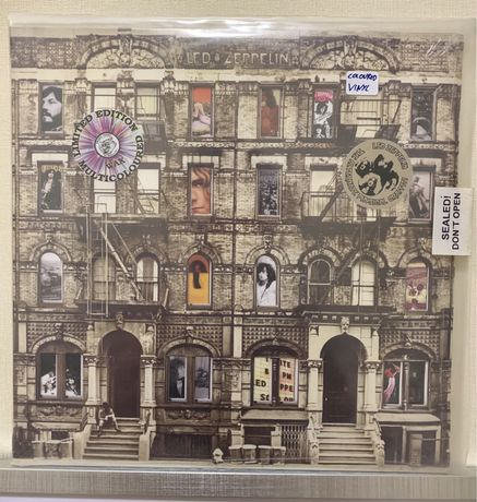Пластинка Led Zeppelin Phisical Graffiti. Sealled. Limited edition