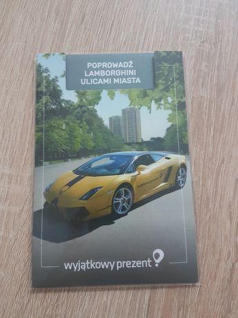 Prowadź Lamborghini Ulicami Miasta. 15 Minut, 7-8 min za kółkiem