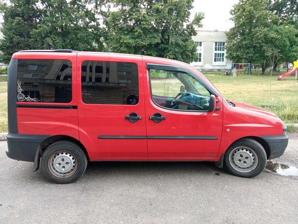 Fiat Doblo 2005 пасажир
