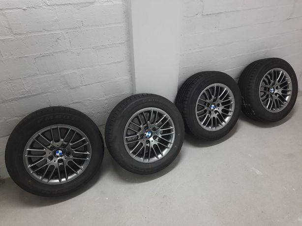 BMW E39 styling 82 16 cali chrome shadow zamiana na styling 32 lub  37
