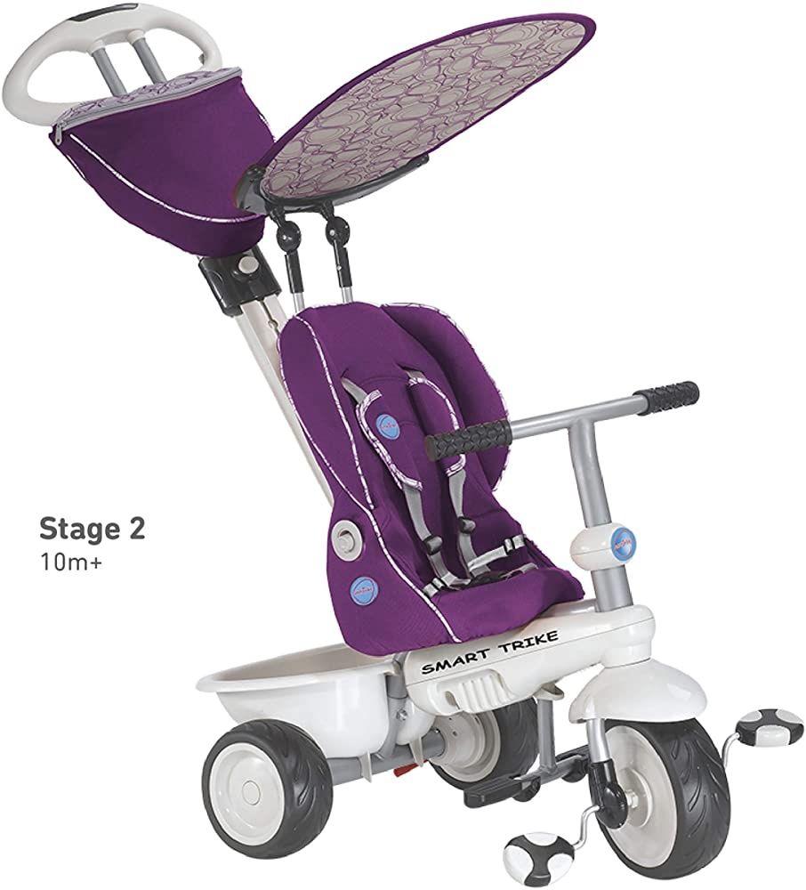 Велосипед Smart Trike Recliner Stroller 4 в 1, дитячий велосипед