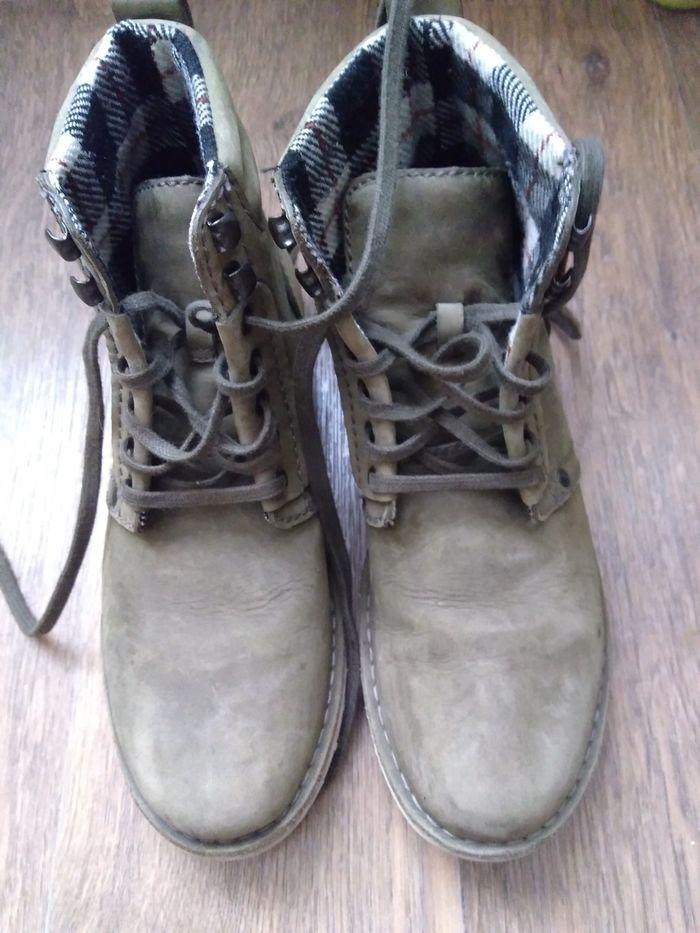 Ботинки Clarks кожа Сумы - изображение 1
