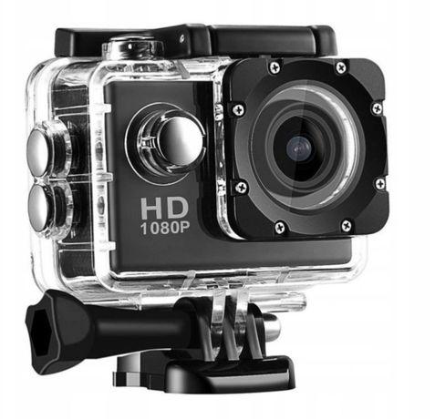 Kamera sportowa FULL HD 1080P komplet