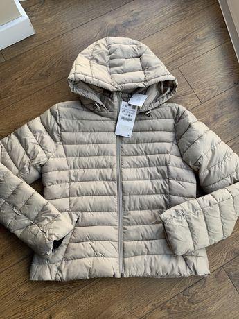 Пуховик анорак стеганная куртка zara mango violeta h&m XL, XXL