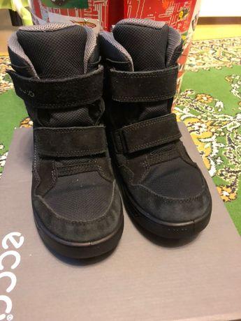 Зимние ботинки Ecco р.38 по стельке 23,5 см