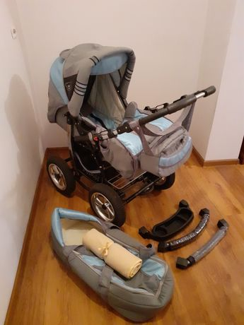 Wózek Baby Merc z akcesoriami + gratis