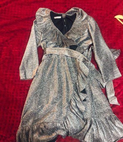 Продам платье люрекс