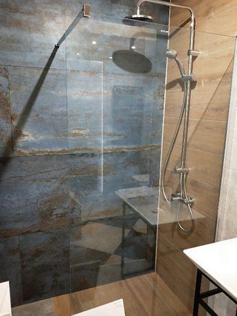 Ścianka prysznicowa typu Walk in 100 cm Novellini