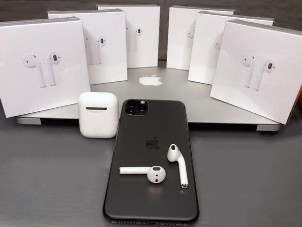 АКЦІЯ Навушники AirPods 2 Apple оригінал еірподс2 Air pods бездротова