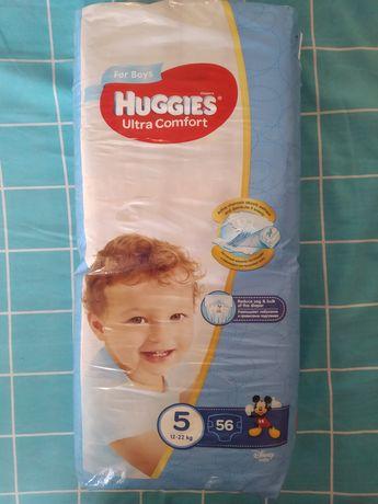 Подгузники памперсы Хаггис 5  Huggies 5 для мальчиков ( 56 шт.)