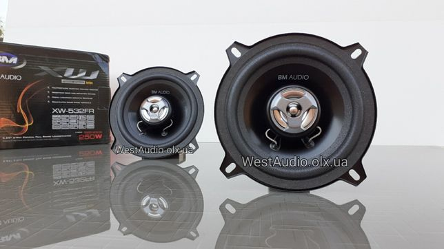 Динамики 13см. Boschmann XW-532FR / новые / авто колонки /цена за пару