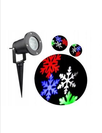 Projektor laserowy świąteczny